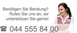 Telefonische Beratung: 0848 300 500